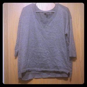 Grey sparkle sweater
